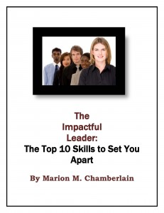 The Impactful Leader Guide Cover
